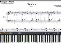 f l o w e r-李闰珉-楽譜ピアノ学習