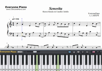 Señorita-Shawn Mendes and Camila Cabello-Free Piano Sheet Music