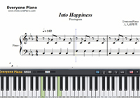 Into Happiness-Phantogram-Free Piano Sheet Music
