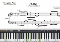 FLARE-Arifureta From Commonplace to Worlds Strongest OP-Free Piano Sheet Music