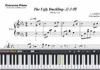 The Ugly Duckling-Dancing Line-Free Piano Sheet Music