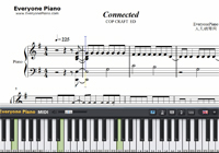 Connected-COP CRAFT ED-Free Piano Sheet Music