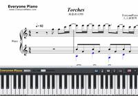 Torches-Vinland Saga ED-Free Piano Sheet Music