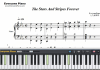 The Stars and Stripes Forever-John Philip Sousa-Free Piano Sheet Music