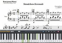 Standchen-Serenade-Free Piano Sheet Music
