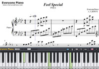 Feel Special-TWICE-Free Piano Sheet Music