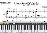 Schwarzer Regen-The Dark Forest-Free Piano Sheet Music