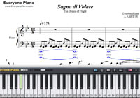 Sogno di Volare-Civilization VI Theme-Free Piano Sheet Music