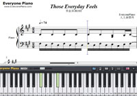 Those Everyday Feels-Made in Abyss OST-Free Piano Sheet Music