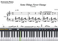 Some Things Never Change-Frozen 2 OST-Free Piano Sheet Music