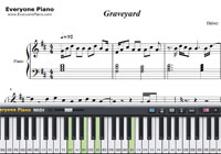 Graveyard-Halsey-Free Piano Sheet Music