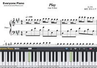 Play-K-391 ft Alan Walker ft Tungevaag ft Mangoo-Free Piano Sheet Music