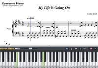 My Life is Going On-Money Heist OP-Free Piano Sheet Music